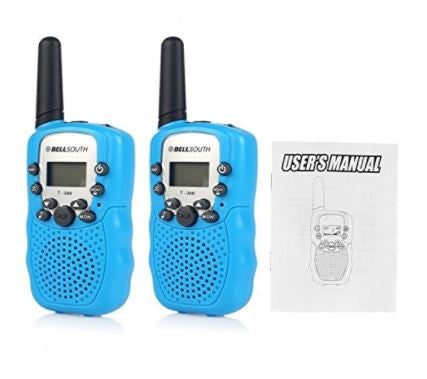Bellsouth T388 5-KM FRS GMRS UHF Two 2 Way Radios Walkie Talkie