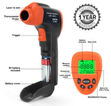 BTMeter BT-980G Digital Lasergrip No Touch Non Contact Infrared IR Gun Thermometer Reading Temperature