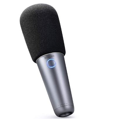 Bolder Portable Wireless Bluetooth Karaoke Microphone for PC iOS Android