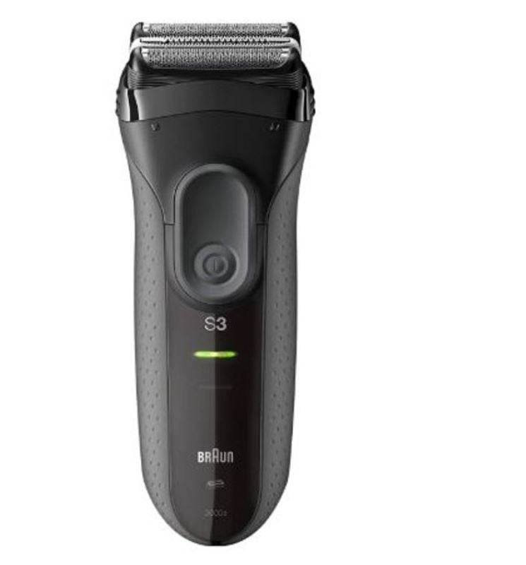 Braun Series 3 ProSkin 3000S Rechargeable Cordless Electric Foil Clipper Trimmer Shaver Razor Groomer Grooming Kit 220V Dual Auto Voltage