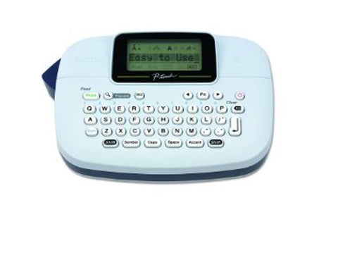 Brother P-Touch PTM95 Electronics Portable Handy Label Labeler Maker