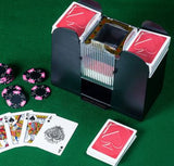 CASINO 6 Deck Automatic Playing Cards Dealing Shoe Shuffler Machine