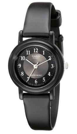 Casio Watch Women's LQ139A-1B3 Black Resin