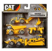 Cat Caterpillar Toy State Mini Machine Toy Truck 5-Pack
