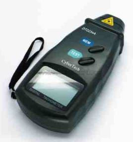 Cybertech Digital Laser Photo Non-Contact Tachometer