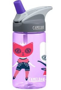 CamelBak Kid's Eddy Water Bottle, Dolls 400 ml