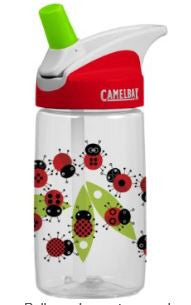 CamelBak Kid's Eddy Water Bottle, Ladybugs 400 ml