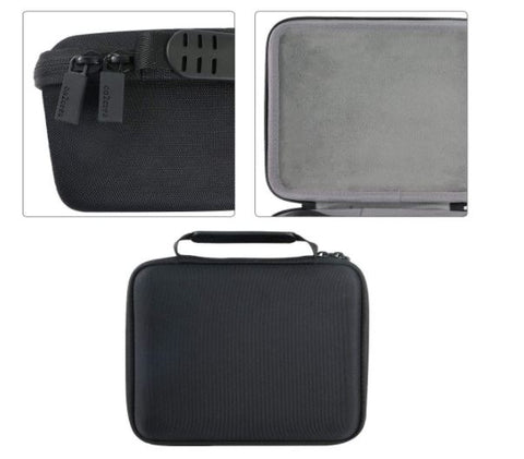 Co2crea Hard Carrying Travel Case Bag for Omron BP5250 Silver Blood Pressure BP Monitor