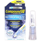 Compound W Nitrofreeze Warts Remover Removal Nitrous Oxide Treatment