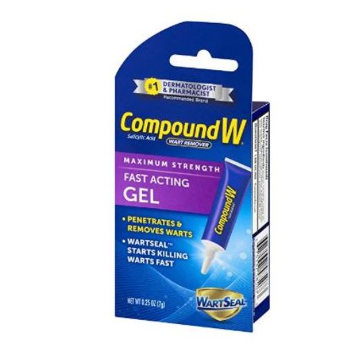 Compound W Plantar Warts Remover Removal Salicylic Acid Gel