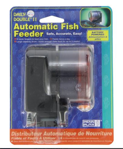 Daily Double Aquarium Automatic Fish Food Tank Feeder Timer
