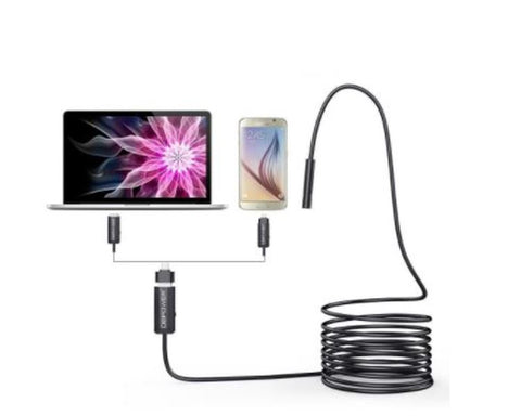 Dbpower 5M x 8.5mm Endoscope Inspection Snake Borescope Camera