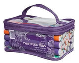 DIANE Twist Flex Rods Foam Hair Curl Rollers 42-Pack