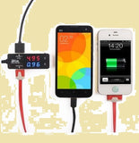 Drok USB Sync Charger with Ampere Voltage Multimeter