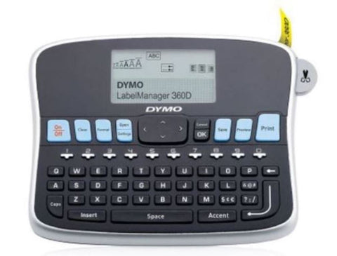 DYMO 1754488 LabelManager 360D Rechargeable Desktop Label Maker