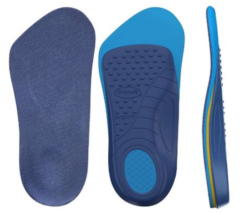 Dr. Scholl's Orthotics for Arthritis Pain Relief Foot Feet Knees Hips Support Insoles Women Size 6-10