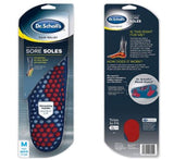 Dr. Scholl's Orthotics for Sore Soles with Cushion Feet Foot Pain Relief Support Men Size 8-14