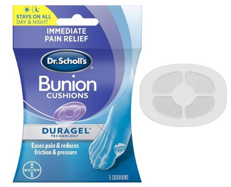 Dr. Scholl's Bunion Cushion with Duragel Protection Pain Relief Support