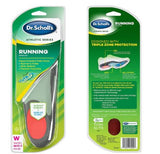 Dr. Scholl's Running Insoles for Plantar Fasciitis Shin Splints Support Women Size 5.5-9