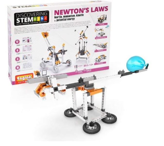 Engino Discovering Stem Newton's Laws Inertia Momentum Kinetic Potential Energy Construction Kit