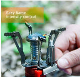 Etekcity Portable Ultralight Mini Camping Gas Stove Outdoor Backpacking