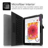 FINTIE PU Leather Folio Case for Microsoft Surface 3 Tablet