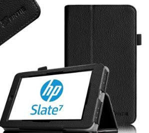 Fintie HP Slate 7 (Model 2800) Folio Case With Stylus Loop