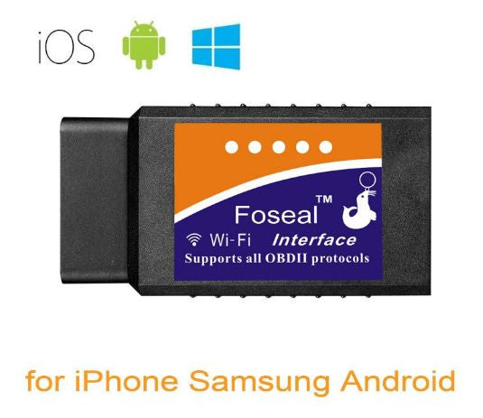 Foseal Wifi OBD2 OBDII Auto Diagnostic Scanner Android iOS