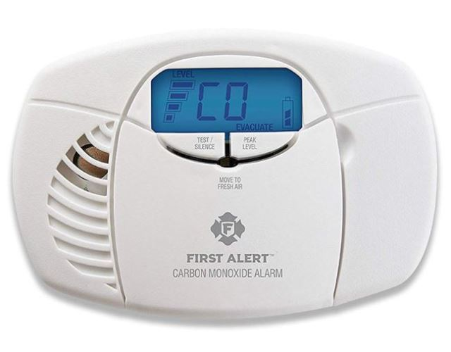 First Alert CO410 Battery Operated Carbon Monoxide Alarm Detector