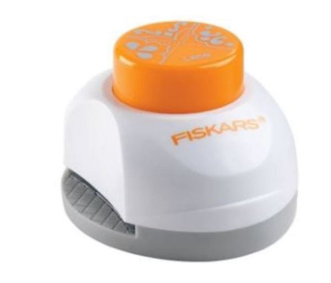 Fiskars 123310-1001 Corner Border Photo Paper Card Lace Punch