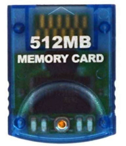 HDE 512 MB Memory Card for Nintendo GameCube Wii Game Console