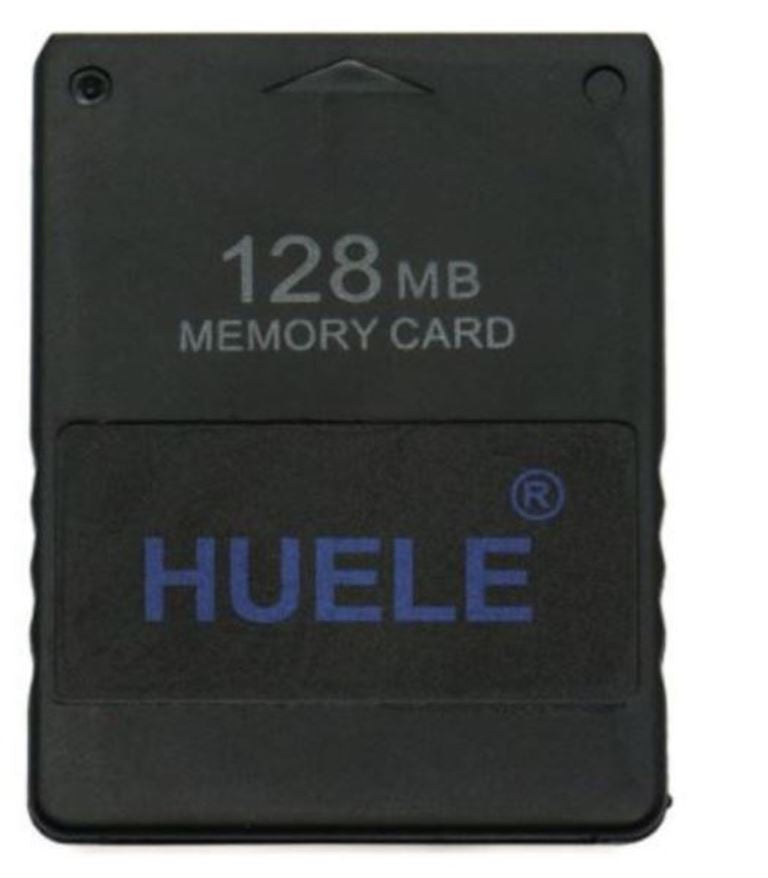 Huele 128 MB Memory Flash Card for Sony Playstation 2 PS2 Games