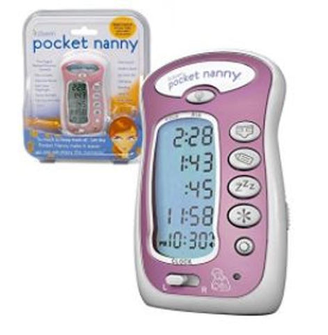 Itzbeen Pocket Nanny Baby Care Timer Feeding Schedule Alarm Tracker