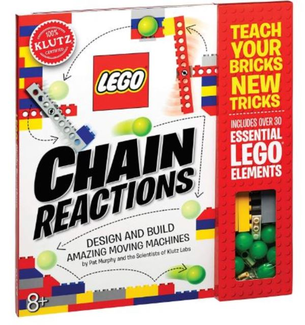 Klutz Lego Chain Reactions Science & Building Kit Toy
