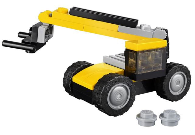 Lego Creator 31041 Heavy Equipment Construction Vehicles