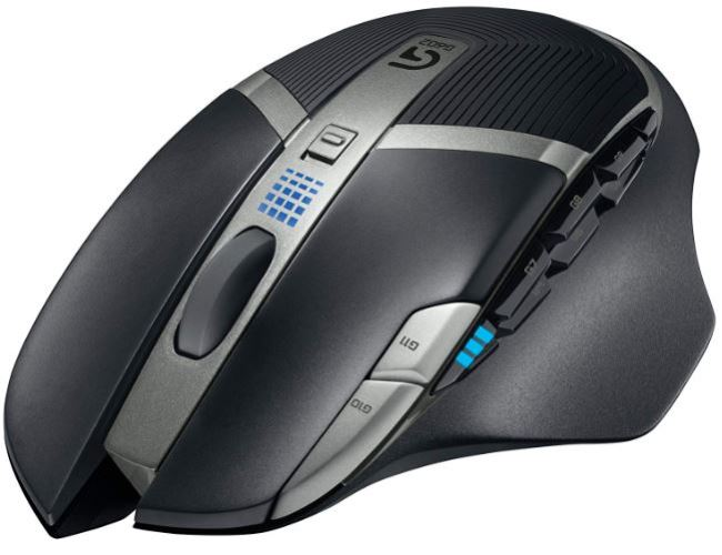Logitech G602 Lag-Free Wireless Bluetooth Gaming Mouse