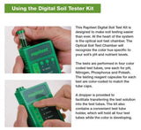 Luster Leaf 1605 Rapitest Digital Soil Tester Kit pH N P K