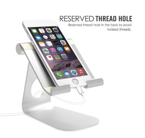 MoKo Multi-Angle Tablet Cradle Holder Aluminum iPad Stand iPad Android