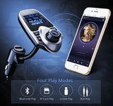 Mpow Bluetooth FM Transmitter MP3 Player Hands-free Radio Phone