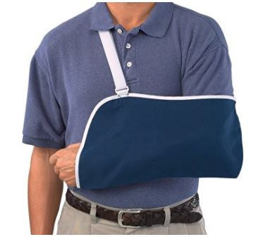 Mueller USA Medical Arm Sling Shoulder Strap Immobilizer One Size