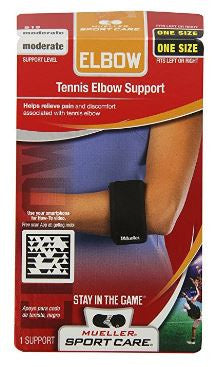Mueller USA Tennis Elbow Support One Size Black