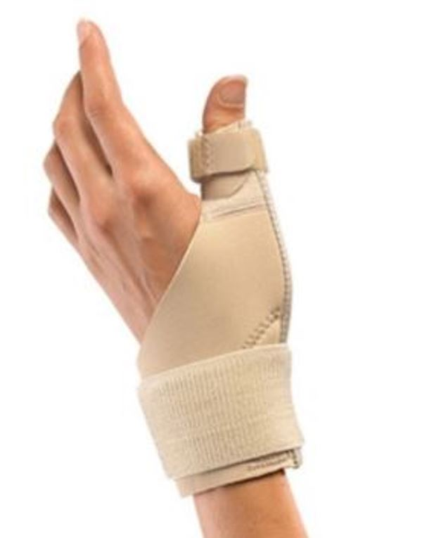 Mueller USA Thumb Stabilizer Metal Splint Wrist Brace Support 1 Size