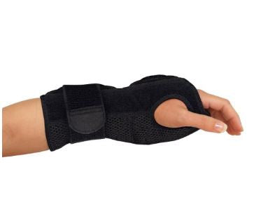 "Mueller USA 6772 Wrist Brace Night Sleep Support 9"" Black"