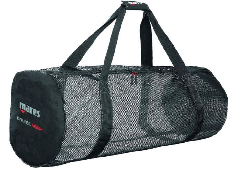 Mares Cruise Collection Series Mesh Duffle Scuba Gear Backpack Travel Bag
