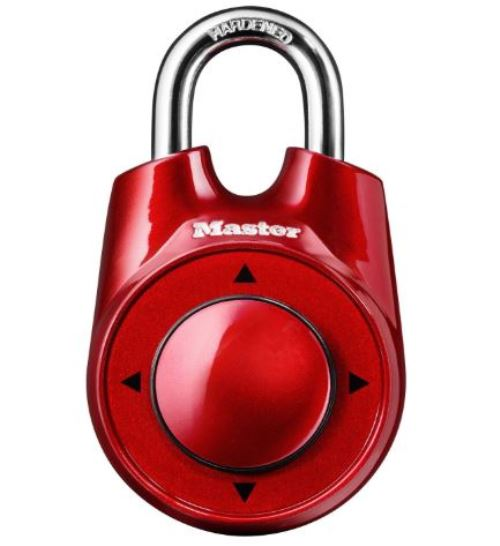 Master Lock 1500iD Directional Combination Security Code Padlock