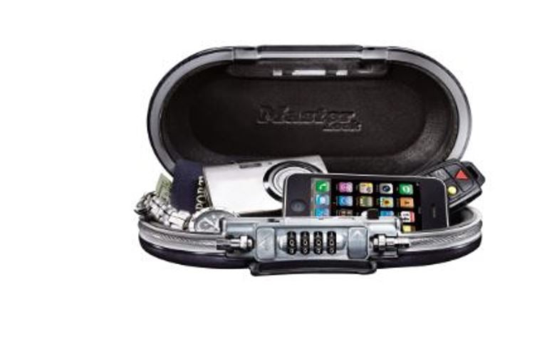 Master Lock SafeSpace 5900D Portable Combination Lock Cable Box Case