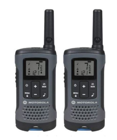 Motorola T200 20 Mile Talkabout Two 2 Way Radios Walkie Talkie