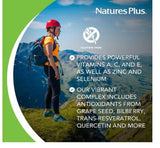 Nature's Plus AgeLoss Eye Support Vitamins & Minerals Supplement 60 Capsules