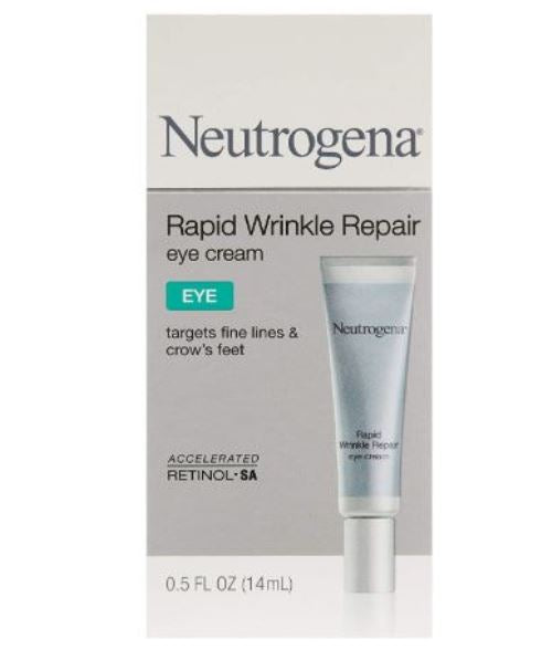 Neutrogena Anti-Wrinkle Rapid Repair Retinol Eye Cream 0.5 Fluid Oz