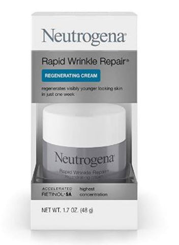 Neutrogena Anti-Wrinkle Rapid Repair Retinol Regenerating Cream 1.7 Oz